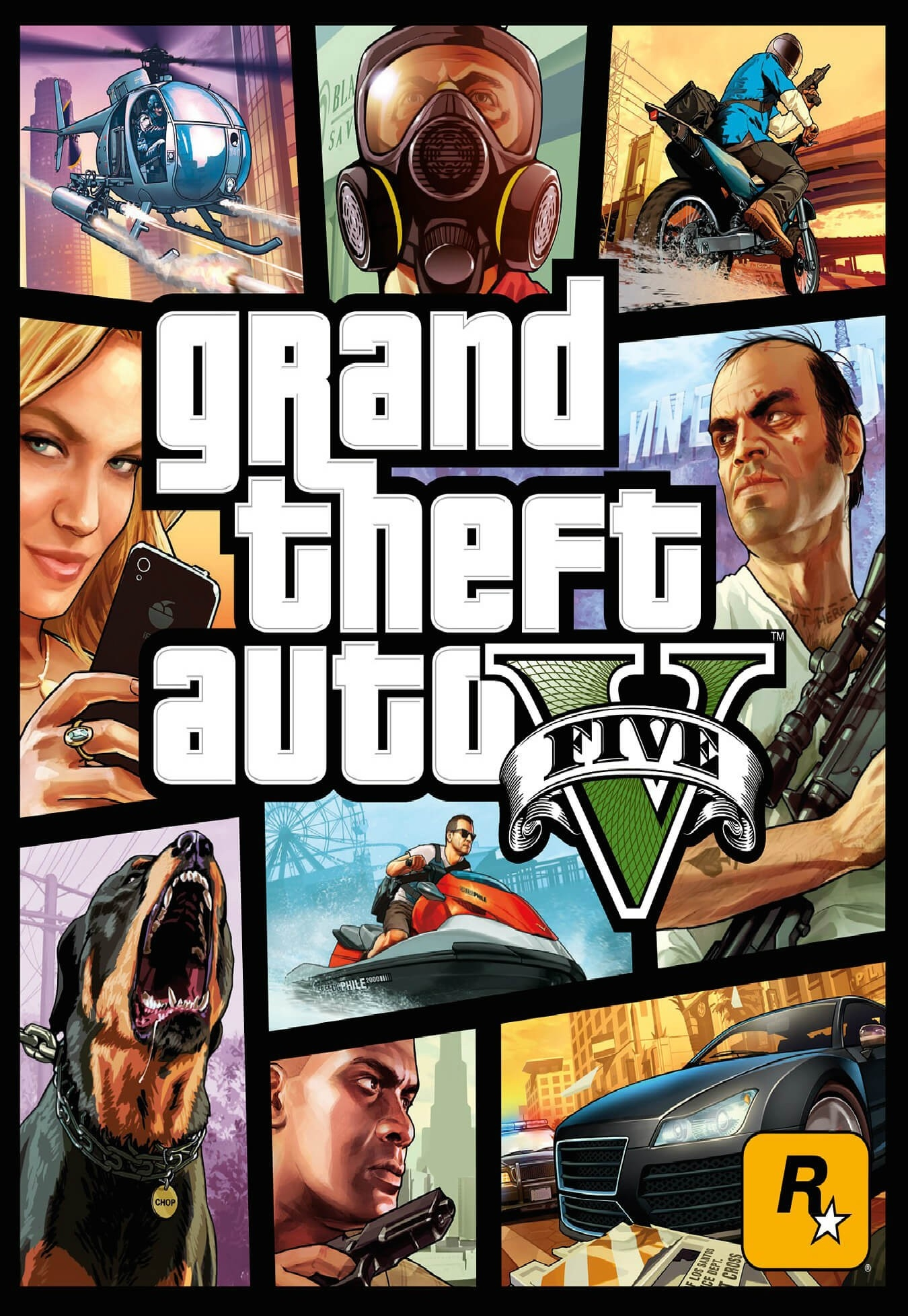 Grand Theft Auto V GTA V game - Gamerjar